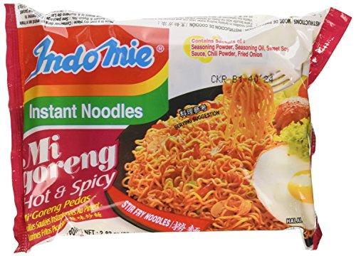 Noodles Case (Indomie Instant Fried Noodles Spicy/Hot for 1 Case (30))