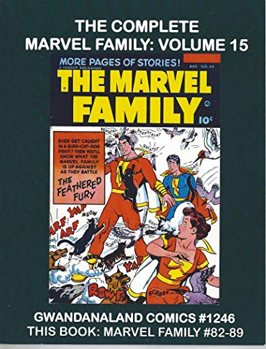 Marvel Family 82 thru 89 GWANDANALAND used photocopy sc book Fawcett