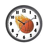 CafePress – Hot Basketball Wall Clock – Unique Decorative 10″ Wall Clock