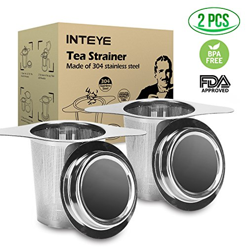 Tea Infuser,Tea Strainer,2 PACK 304 Stainless Steel Water Filter