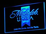 Michelob Ultra Beer LED Neon Sign Blue