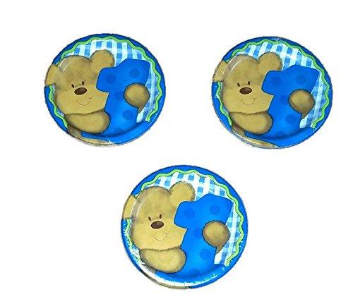 - Baby's 1st Birthday Blue Boy's Teddy Bear Bundle 7