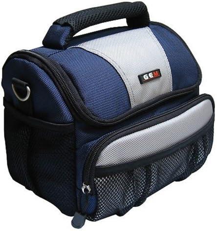 GEM GEM1013NCL120P500 Caja compacta Gris, Negro, Azul Estuche para cámara fotográfica: Amazon.es: Electrónica