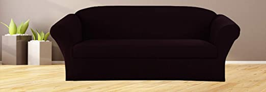 Burgundy Polyester Spandex Furniture Protector Cover Set for 3//2//1 Cushion 3pc Slipcover Form fit Stretch /& Wrinkle Free Sapphire Home 3-Piece SlipCover Set for Sofa Loveseat Couch /& Arm Chair