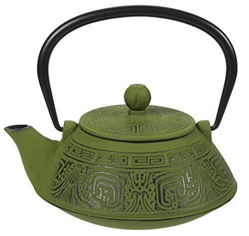 Cast Iron Teapot with Infuser – Tea Kettle with Stainless
