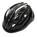 Children Helmet Mini Ultralight Bicycle Secure & Safety Headguard Adjustable Kids Bike Protective Harnesses Cap for Outdoor/Indoor with Light Black