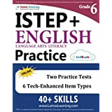 ISTEP+ Test Prep: Grade 6 English Language Arts Literacy (ELA) Practice Workbook and Full-length Online Assessments: Indiana Study Guide