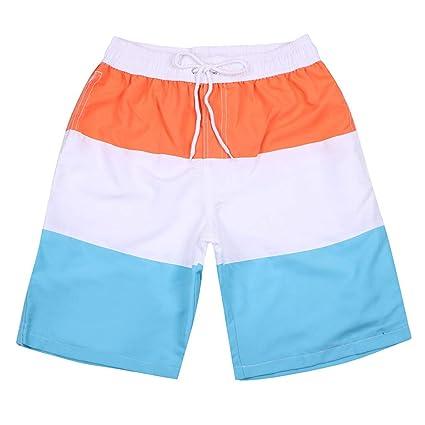 c3d48ca2983fc Amazon.com: Allywit Mens Swimwear Swim Shorts Trunks Beach Board Shorts  Swimming Short Pants Swimsuits Mens Running Sports: Electronics