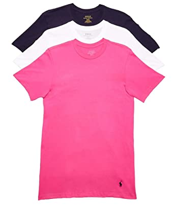 Polo Ralph Lauren Men s 1 20 3-Pack Crew T-Shirt Cruise Navy Madison ... 220c061afee