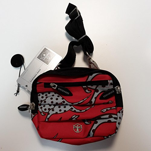 Chiemsee Umhängetasche Shoulder-Bag SONIC / Fullprint Kangaroo red