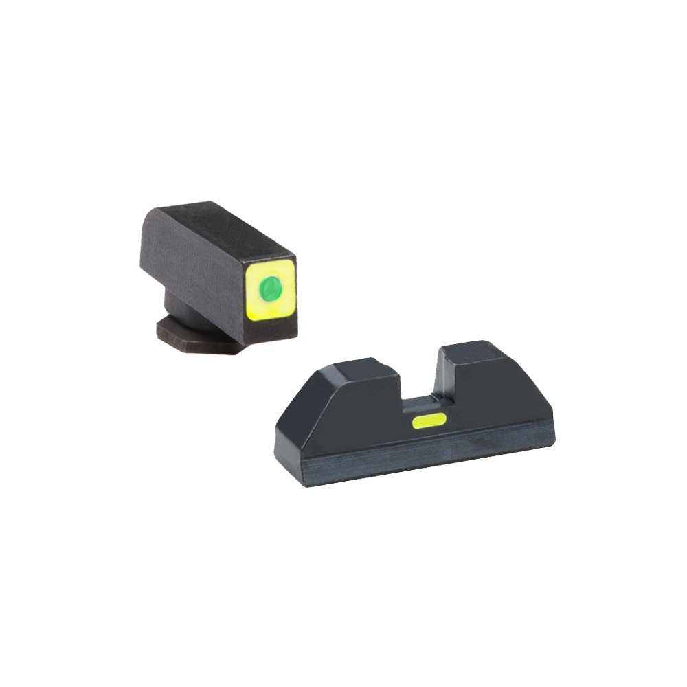 AmeriGlo Cap Combative Application Front/Rear Fits Glock 42 & 43 Sight, Green by AmeriGlo