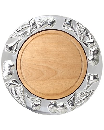Mariposa Shell Round 14.75In Platter