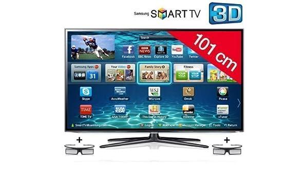 Televisor LED 3D Smart TV UE40ES6100 + Gafas 3D Active SSG-4100GB/XC: Amazon.es: Electrónica
