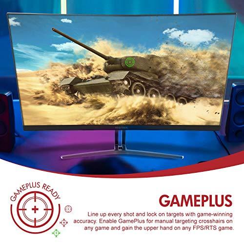 Viotek 24-Inch 1080P Bezel-Less VA Panel, HDMI FreeSync – VESA