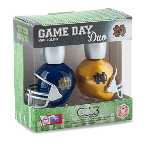 Notre Dame Fighting Irish Game Day Duo Nail Polish