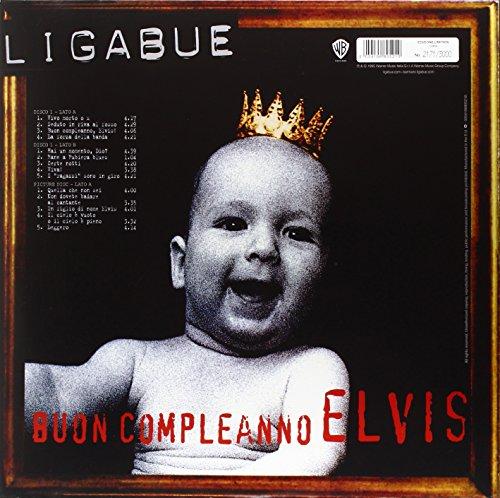 LUCIANO LIGABUE   Buon Compleanno Elvis (Picture Disc + Black