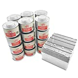 Emergency Cooking Fuel Storage Set with Stove, 20+ Year Shelf Life, 5 Day, 15 Day, and 30 Day Supply (30 Day)
