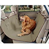 PetSafe Solvit Waterproof Hammock Seat Cover, Dog and Cat Back Seat and Floorboard Cover for Most Cars, Trucks, Minivans and SUVs, Green, 56 in. W x 57 in. L, 2.5 lb.