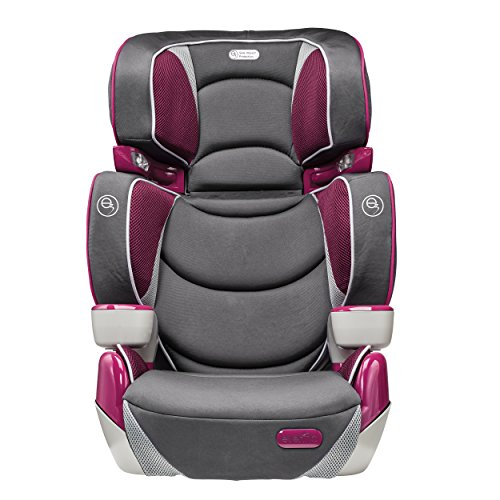 Evenflo RightFit Booster Car Seat, Hollyhock