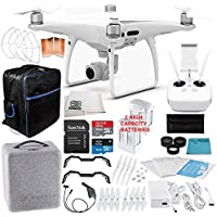 DJI Phantom 4 Pro Quadcopter EVERYTHING YOU NEED Essential Bundle