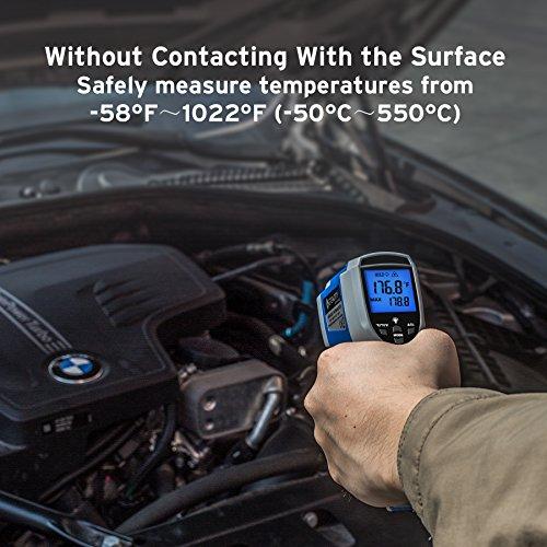 Etekcity 1022 Digital Laser Infrared Thermometer Temperature