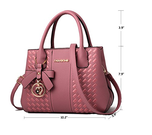 Purses Graypink Women Fashion Shoulder Satchel Bags Ladies Handbags PU for Leather Tote 5gIUqwP