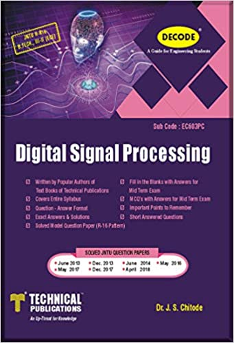 Buy DECODE-Digital Signal Processing for JNTU-H (B TECH  III