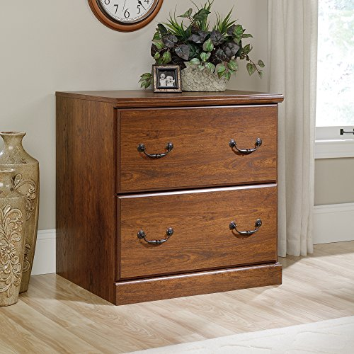 Sauder Orchard Hills 2 Drawer File Cabinet in Milled Cherry by Sauder