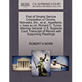 First of Omaha Service Corporation of Omaha, Nebraska, Etc., et al., Appellants, V. Iowa Ex Rel. Richard C. Turner, Attorney General. U.S. Supreme Court Transcript of Record with Supporting Pleadings