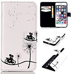 6S Plus,6 Plus Case,6S Plus Case,iPhone 6S Plus Leather Case,iPhone 6S Plus Case,Linycase Beautiful Picture [Magnetic] Style PU Leather Case Wallet Flip Stand Case for iPhone 6S/6 5.5 inch-16C