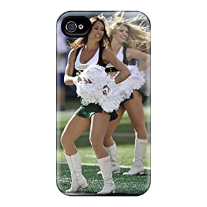 Case Cover New York Jets Cheerleaders 2012 Calendar/ Fashionable Case For Iphone 4/4s by runtopwell