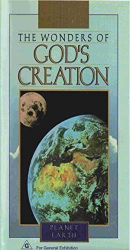 The Wonders of God's Creation - Planet Earth [VHS] (The Wonders Of Gods Creation Planet Earth)