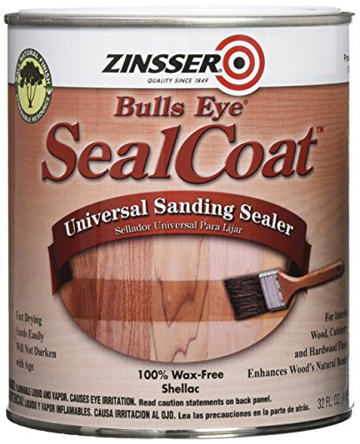 Rust-Oleum Zinsser 854 1-Quart Bulls Eye Sealcoat Universal Sanding (Universal Sealer)
