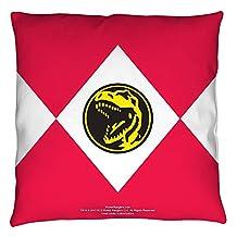 Power Rangers Red Ranger Throw Pillow White 14X14