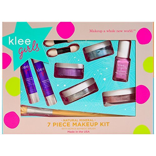 Luna Star Naturals Klee Girls 7-Piece Kit with Up and Away Bonus Bamboo Brush