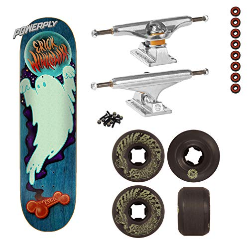 Santa Cruz Skateboard Complete Ghost, Indy Trucks, Wheels