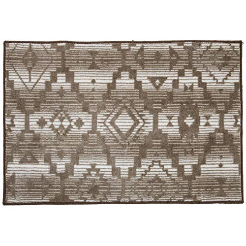 HiEnd Accents Chalet Bath Rug 24x36 Tan