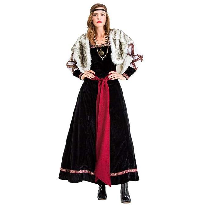 Guerrero Vestido de Las Mujeres de Halloween Traje Adulto Femenino ...