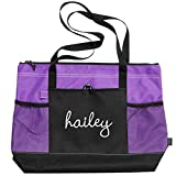 Hailey Dance Bag: Gemline Select Zippered Tote Bag