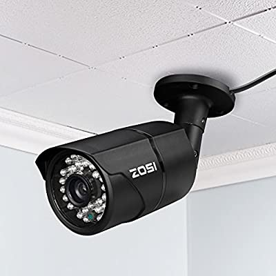 "ZOSI 1/3"" 800TVL 3.6mm len 960H 42 Led Had IR Cut 120Feet Night Vision outdoor Security Camera"