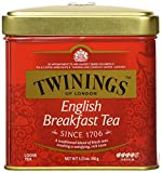 Twinings English Breakfast Tea, Loose Tea, 3.53 Ounce Tin (Pack of 6)