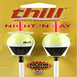 "Thill Floats ND790-2 Night 'N Day Glow Floats - 1"" Oval- Slip"