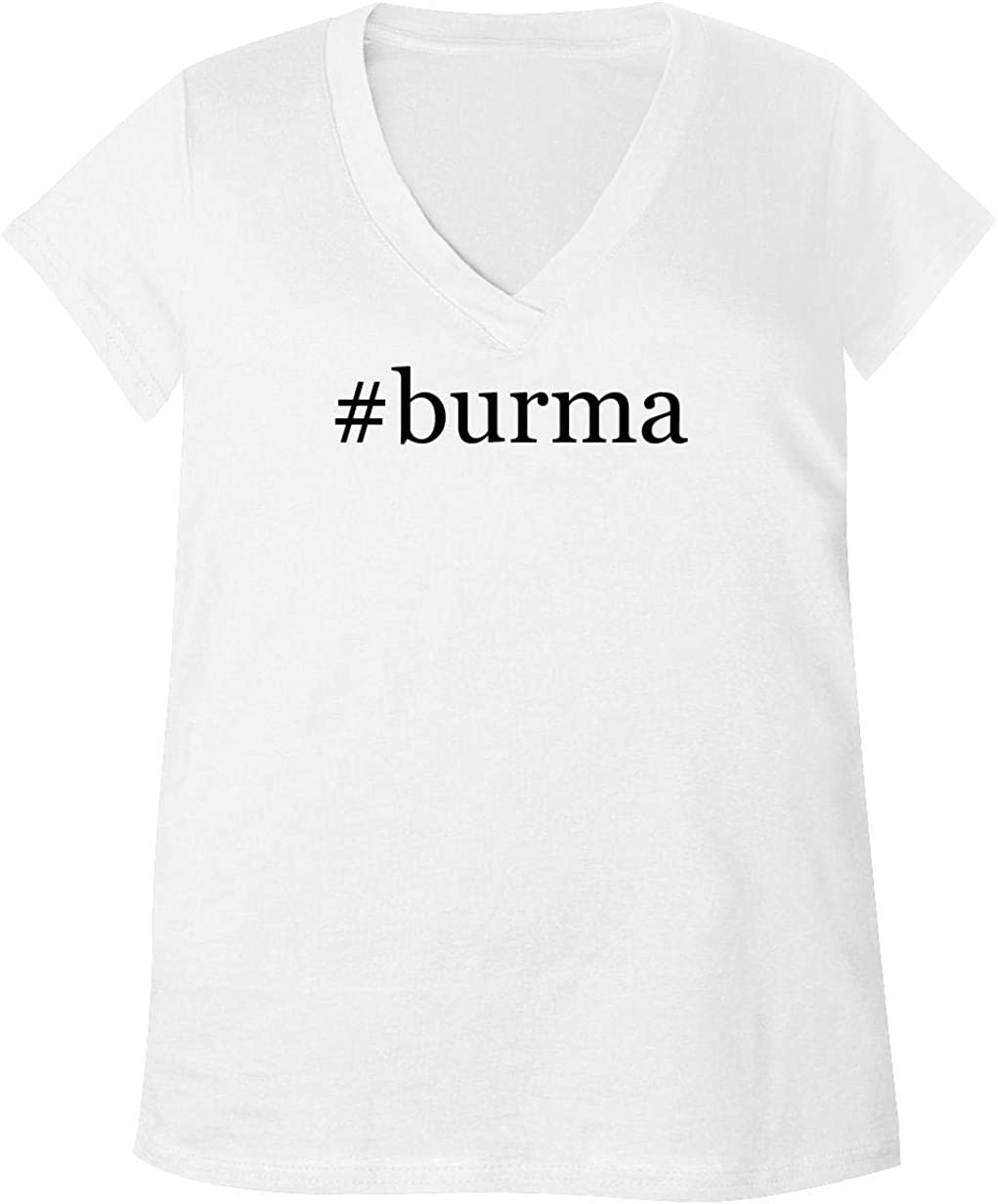 #Burma - Adult Bella + Canvas B6035 Women's V-Neck T-Shirt 51sCmBRur-L