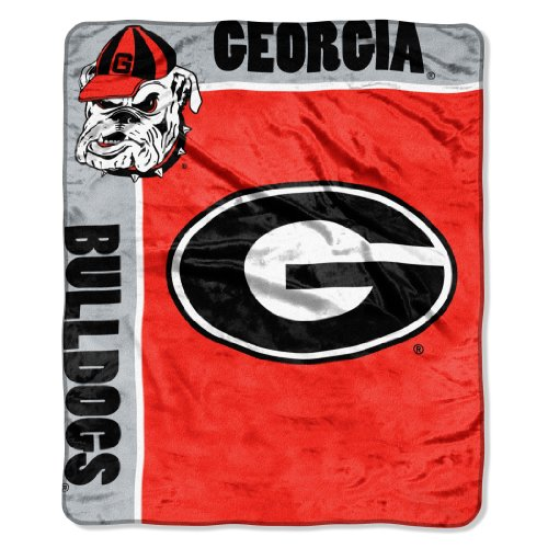 - Officially Licensed NCAA Georgia Bulldogs School Spirit Raschel Throw Blanket, 50
