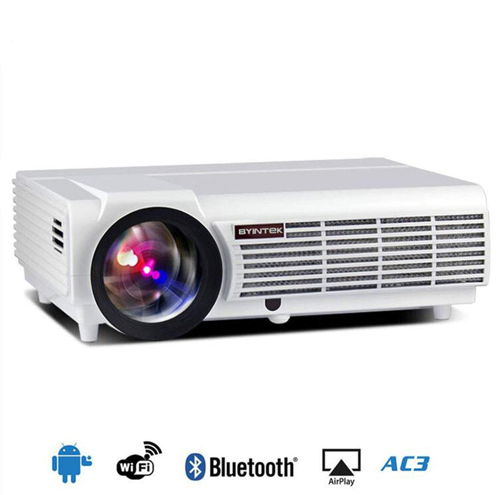 MYYDD Proyector, Android OS WiFi Inteligente Bluetooth LED ...