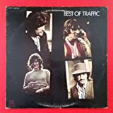 TRAFFIC Best Of LP Vinyl VG+ Cover VG+ UAS 5500