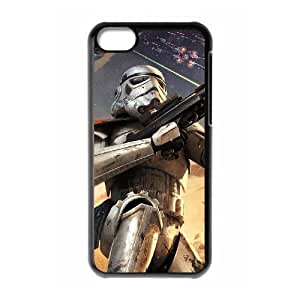 C-EUR Print Star Wars Pattern Hard Case for iPhone 5C