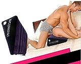 NewMaxer TOUGHAGE Sex Magic Cushion, Toughage Sex Pillow, Sex Furniture Sofa Inflatable Sofa Toys,Inflatable Sex Furniture,Sex Furnitures For Couple with Air Pump (36 X 18 X 61 cm)