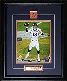 Midway Memorabilia pmanning-8x10-50 Peyton Manning Denver Broncos Superbowl 50 8 x 10 Frame
