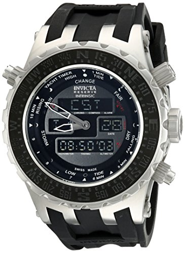 Invicta Men's 12592 Subaqua Analog-Digital Swiss-Quartz Black Watch